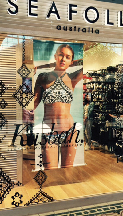 Seafolly-The-Clarion-Group-Retail-Window-Branding