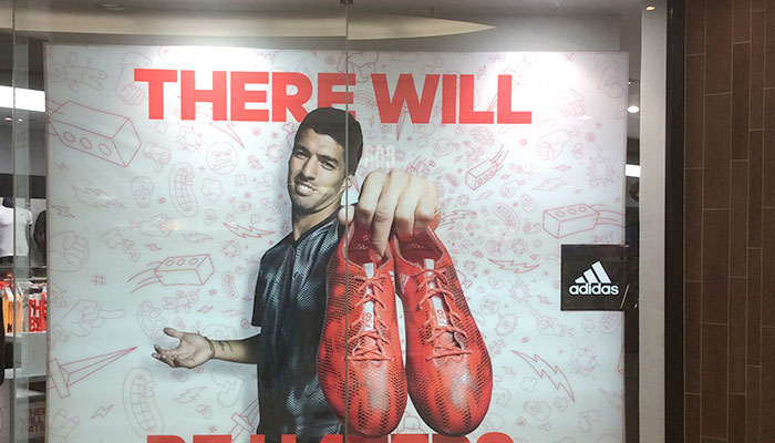 Adidas There Will Be Haters campaign in Eastgate Mall
