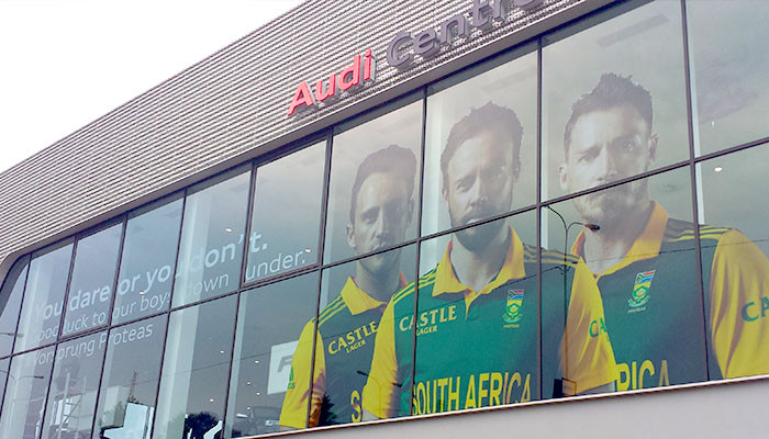 Audi shows support for the Protea Cricket Team