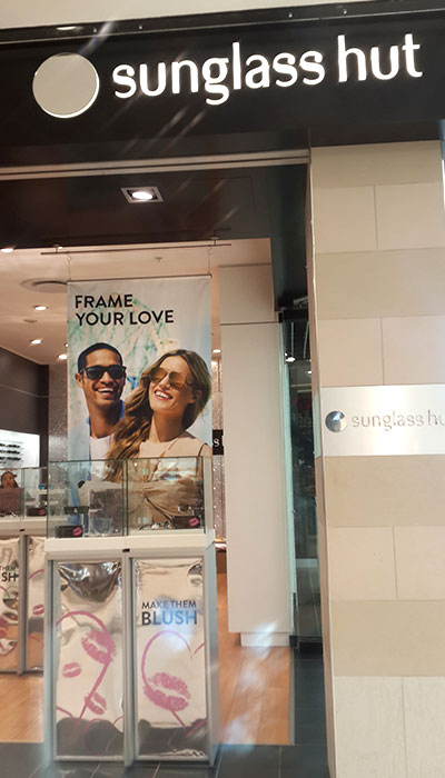 Clarion Retail launches Valentine's Day in-store branding for Sunglass Hut