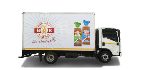 Premier Foods Truck Branding The Clarion Group