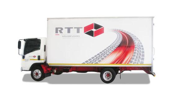 RTT Truck Branding The Clarion Group