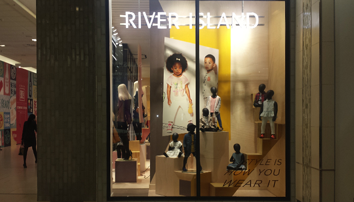 Clarion Retail, a subsidiary of The Clarion Group, were recently awarded the printing work for British high street brand River Island, which launched in South Africa last year