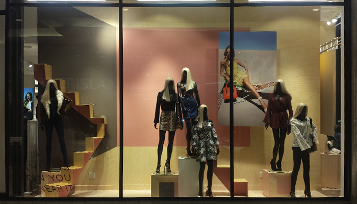 River Island instore branding by The Clarion Group