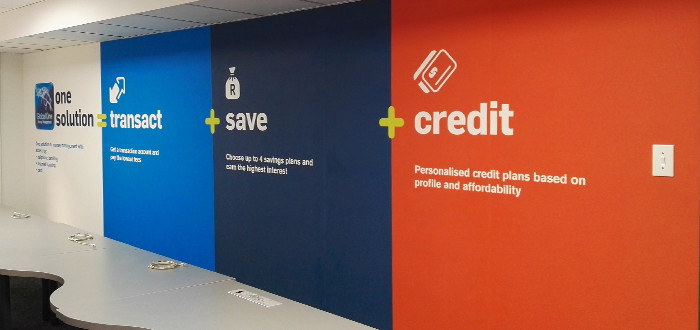 CAPITEC – Branding of Capitec Head Office in Johannesburg