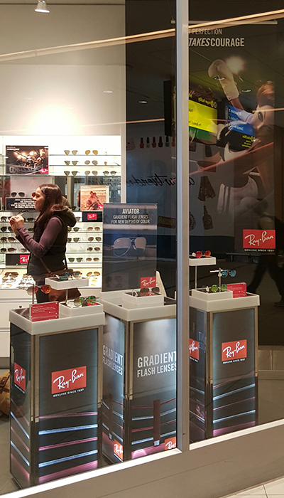 Sunglass Hut Ray-Ban Campaign by The Clarion Group 1