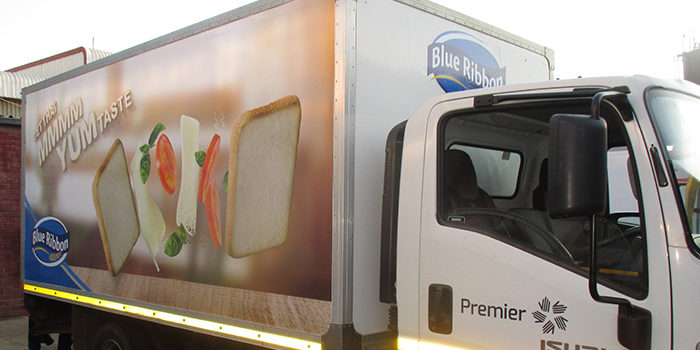 Fleet Branding – Clarion Moving Media partner with Blue Ribbon
