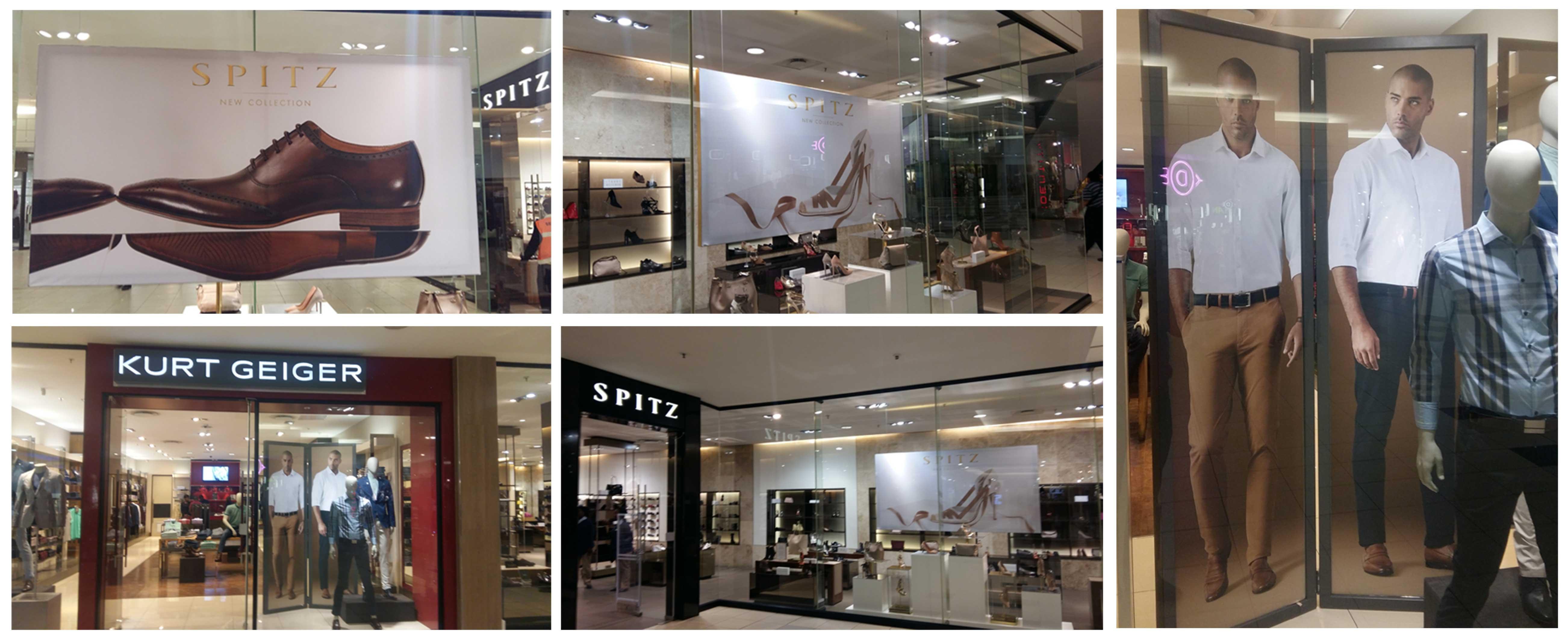 Spitz & Kurt Geiger 2016 Instore Branding campaign
