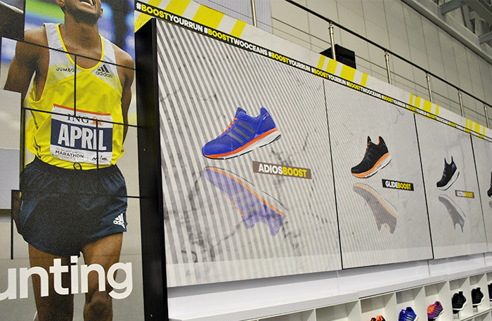 Clarion Retail Brands the adidas Stand at #OMTOM2015