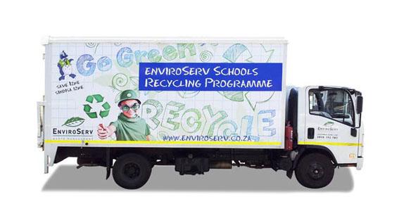 EnviroServ Vehicle Branding The Clarion Group