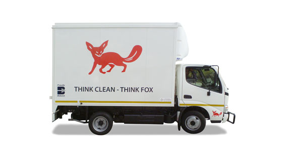 G Fox Truck Branding by The Clarion Group