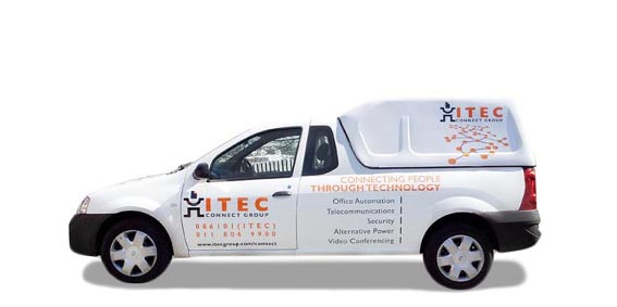 ITEC Vehicle Branding The Clarion Group