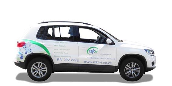 WKI Tiguan Vehicle Branding The Clarion Group