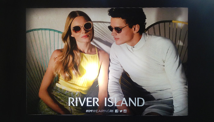 Clarion Retail Awarded River Island In-store Printing