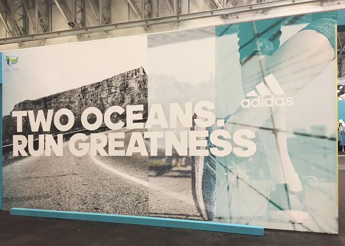 Adidas Stall at The Old Mutual Two Oceans Marathon