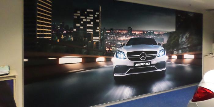 Instore Branding – Mercedes Benz Rosebank