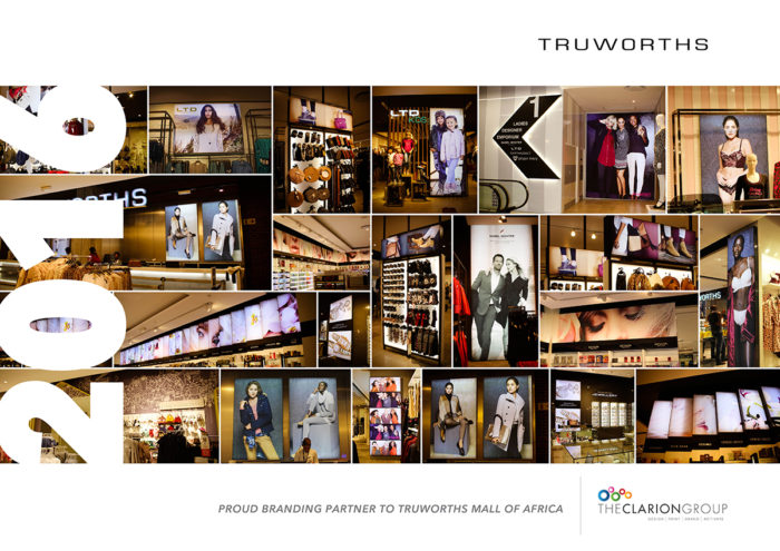Mall of Africa: Truworths Retail Branding