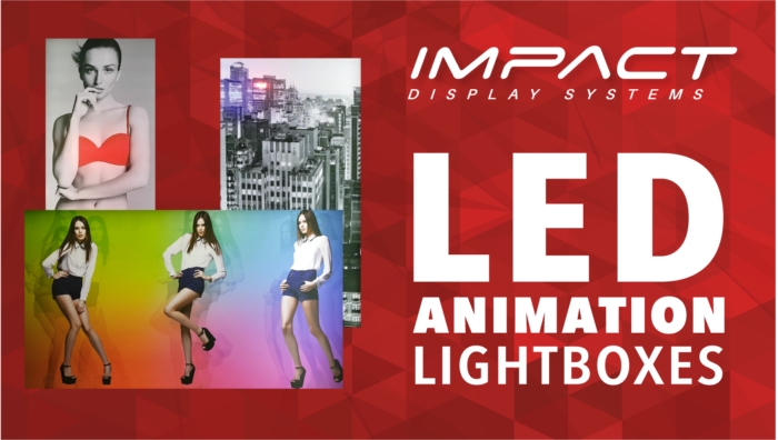 New and exclusive to Clarion! Our LED Animated Lightboxes are pioneering creative retail branding.